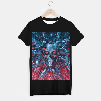 Thumbnail image of Heavy Metal Mind Skull T-shirt regular, Live Heroes