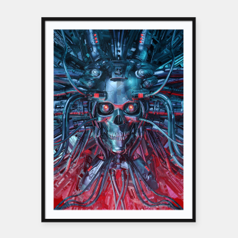 Heavy Metal Mind Skull Framed poster thumbnail image