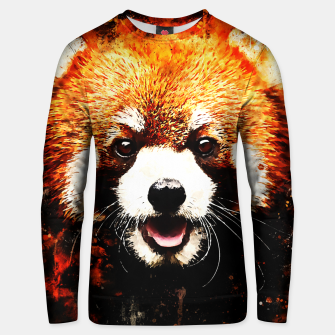 red panda portrait ws std Unisex sweater thumbnail image