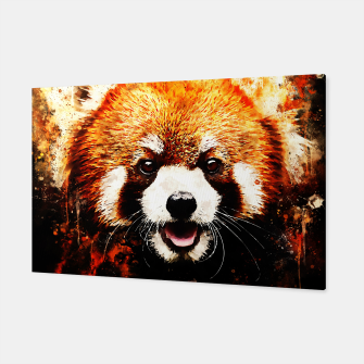 red panda portrait ws std Canvas thumbnail image