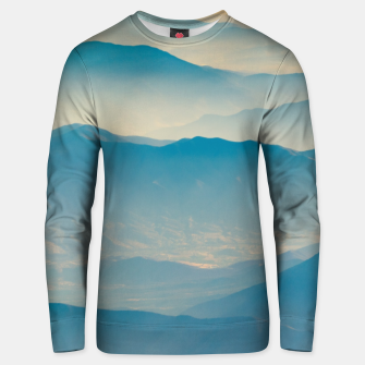 Chilean Andes Mountain Aerial View Unisex sweater thumbnail image