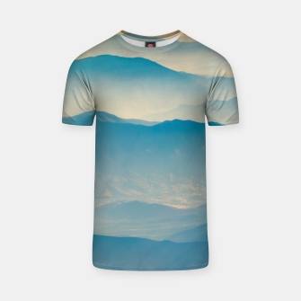 Chilean Andes Mountain Aerial View T-shirt thumbnail image