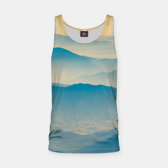 Chilean Andes Mountain Aerial View Tank Top thumbnail image