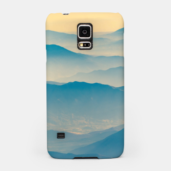Chilean Andes Mountain Aerial View Samsung Case thumbnail image