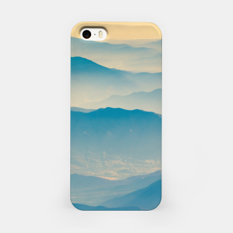 Chilean Andes Mountain Aerial View iPhone Case thumbnail image