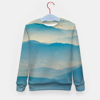 Chilean Andes Mountain Aerial View Kid's sweater thumbnail image