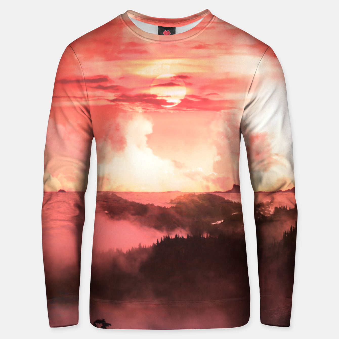 Image of Sunset Down Unisex sweater - Live Heroes