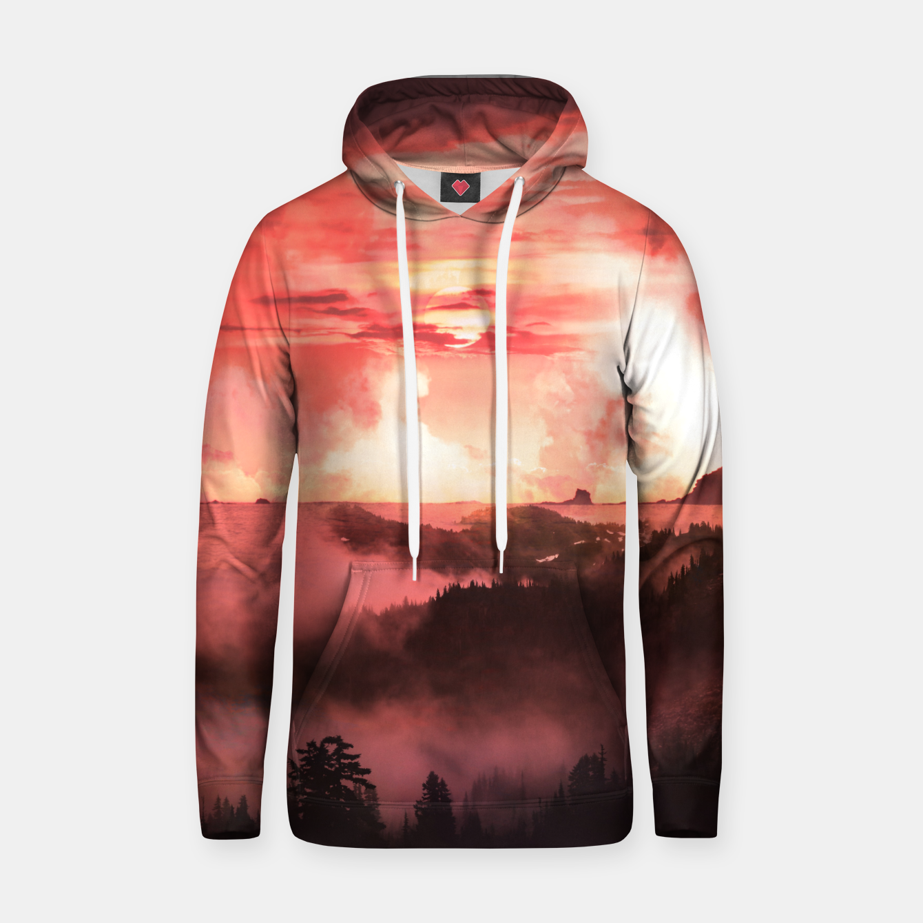 Image of Sunset Down Hoodie - Live Heroes