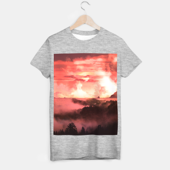 Miniature de image de Sunset Down T-shirt regular, Live Heroes