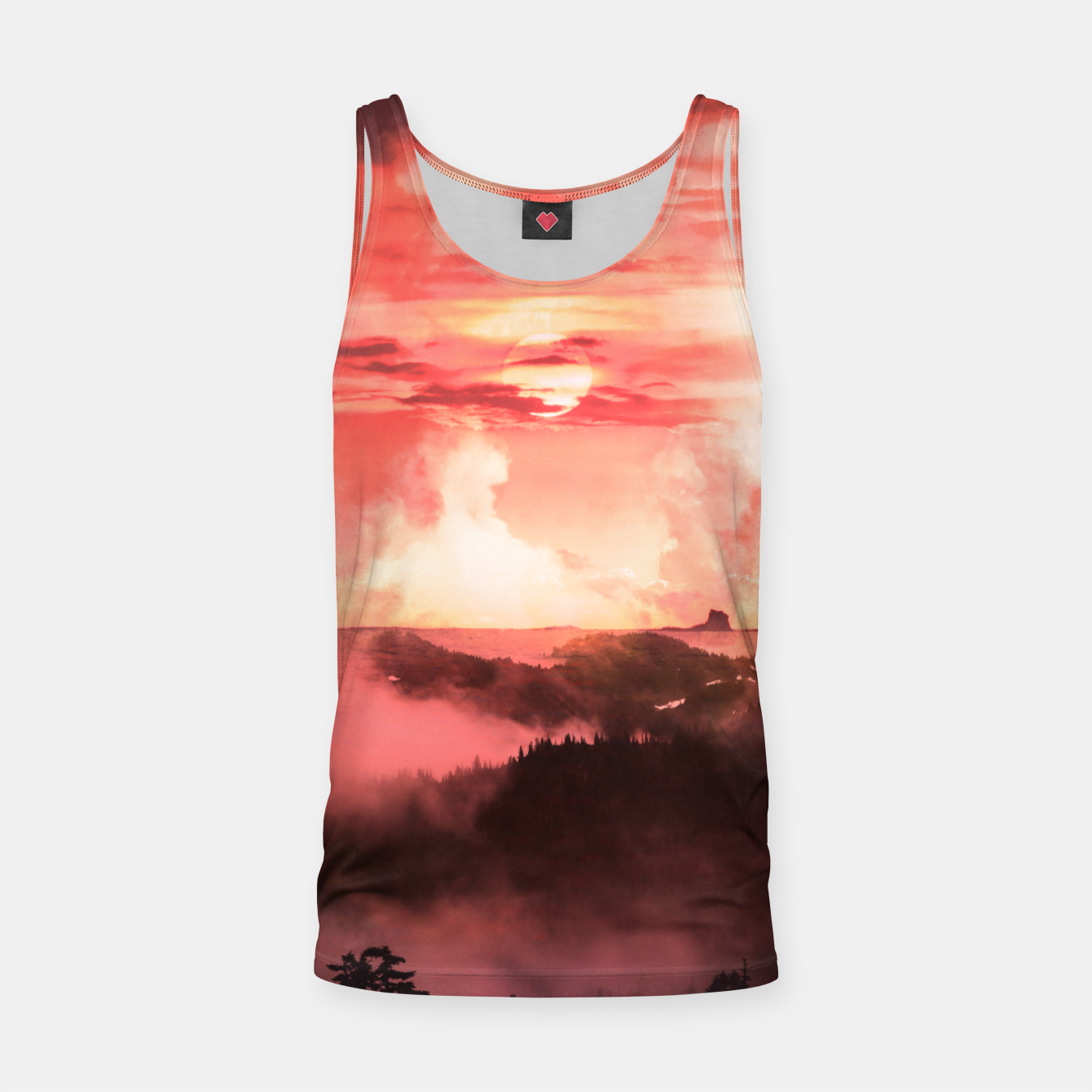 Image of Sunset Down Tank Top - Live Heroes