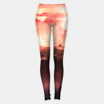 Thumbnail image of Sunset Down Leggings, Live Heroes