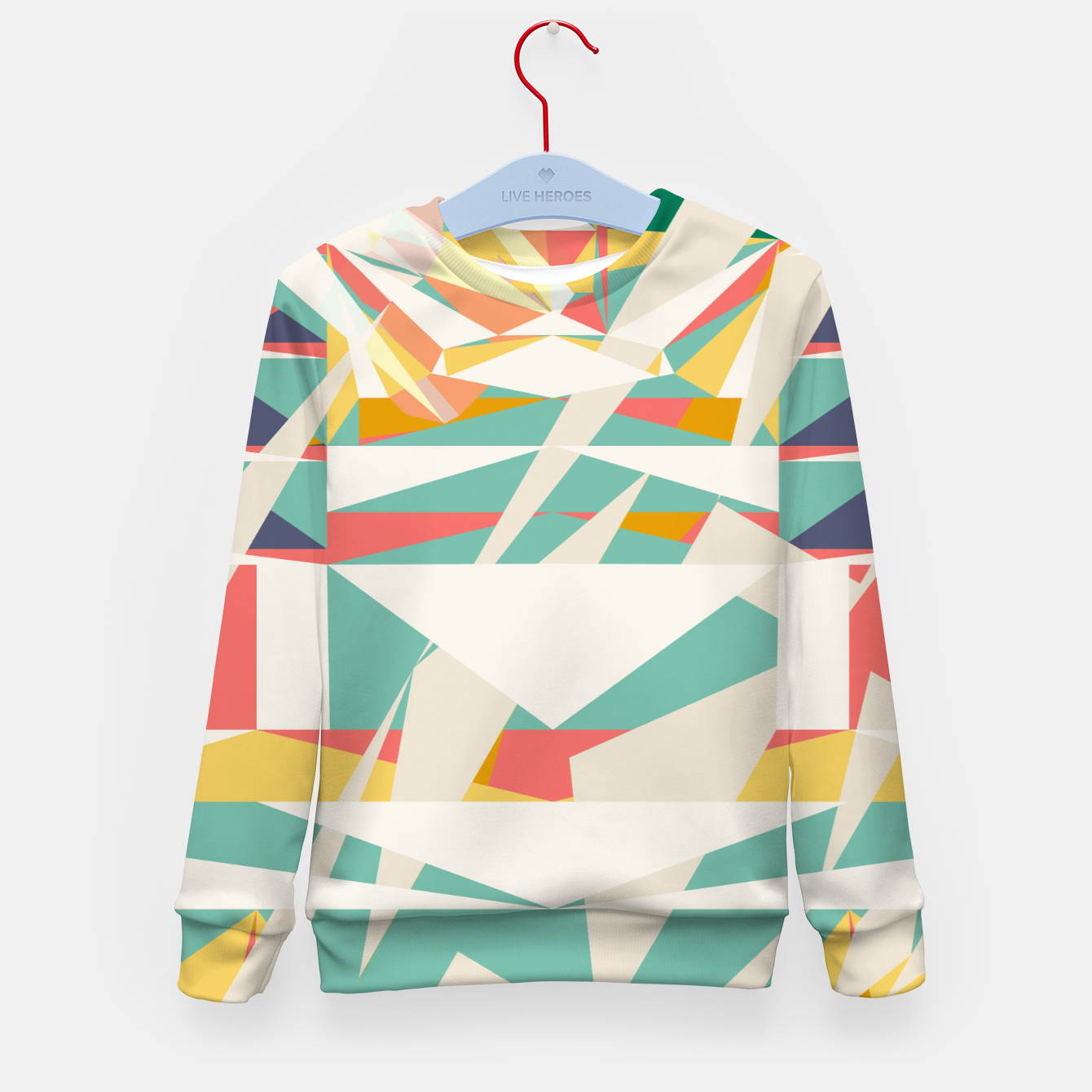 Image of Rad racer Kid's sweater - Live Heroes