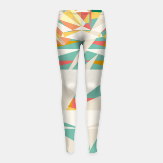 Thumbnail image of Rad racer Girl's leggings, Live Heroes