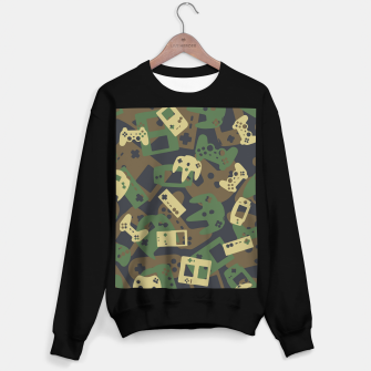 Thumbnail image of Gamer Camo WOODLAND Sweater regular, Live Heroes