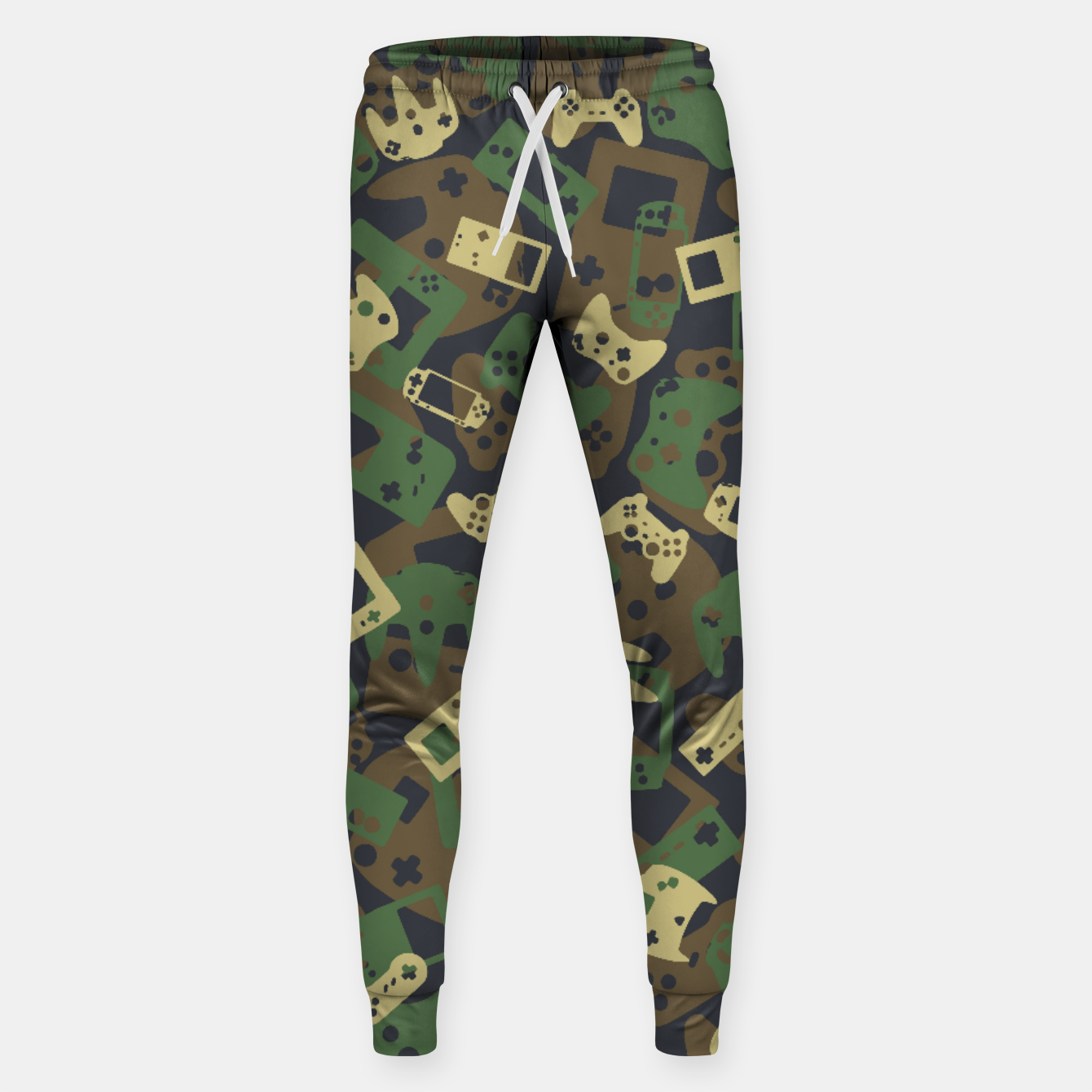 Image of Gamer Camo WOODLAND Sweatpants - Live Heroes