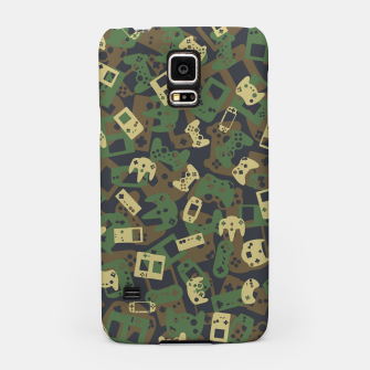 Thumbnail image of Gamer Camo WOODLAND Samsung Case, Live Heroes