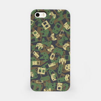 Thumbnail image of Gamer Camo WOODLAND iPhone Case, Live Heroes