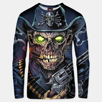 Thumbnail image of Zombie Police Unisex sweater, Live Heroes