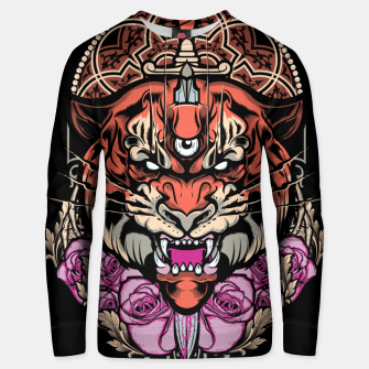 Thumbnail image of Tiger Head Unisex sweater, Live Heroes