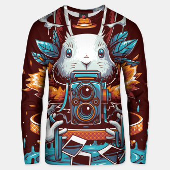 Thumbnail image of Freak Rabbit Unisex sweater, Live Heroes