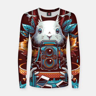 Thumbnail image of Freak Rabbit Women sweater, Live Heroes