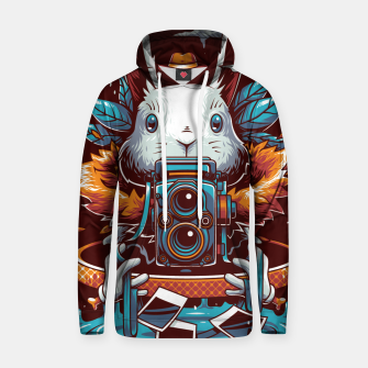 Thumbnail image of Freak Rabbit Hoodie, Live Heroes