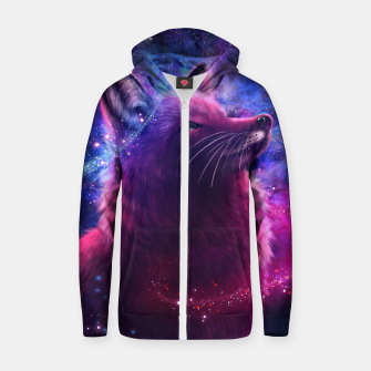Thumbnail image of The Creation of Cosmos Zip up hoodie, Live Heroes