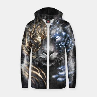 Clash of Claws Zip up hoodie thumbnail image
