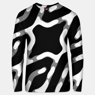 Dark Geometric Print Unisex sweater thumbnail image