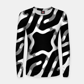 Dark Geometric Print Women sweater thumbnail image
