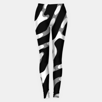 Dark Geometric Print Leggings thumbnail image