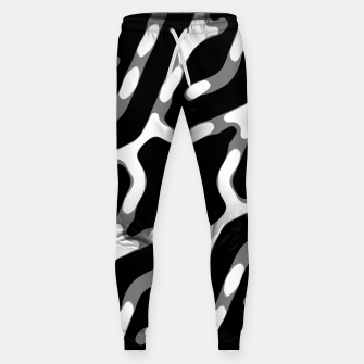Thumbnail image of Dark Geometric Print Sweatpants, Live Heroes