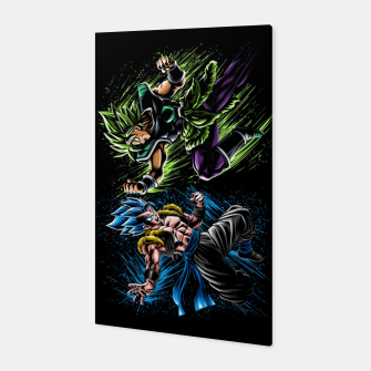 Thumbnail image of Gogeta VS Broly Canvas, Live Heroes