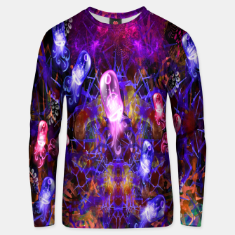 Thumbnail image of Jelly Coral Glow (jellyfish, ocean, water) Unisex sweater, Live Heroes
