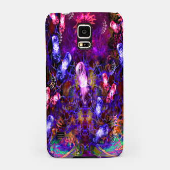 Miniaturka Jelly Coral Glow (jellyfish, ocean, water) Samsung Case, Live Heroes