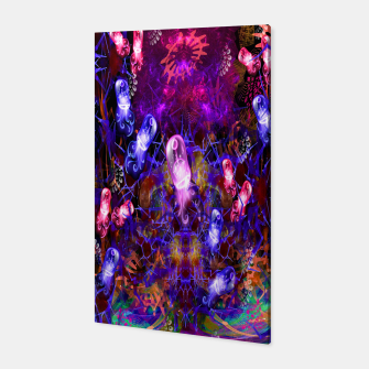 Thumbnail image of Jelly Coral Glow (jellyfish, ocean, water) Canvas, Live Heroes