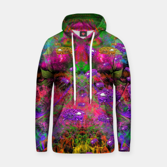 Thumbnail image of Beetle Entrancement (fluorescent, psychedelic) Hoodie, Live Heroes