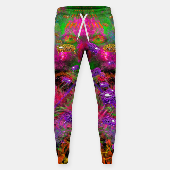 Thumbnail image of Beetle Entrancement (fluorescent, psychedelic) Sweatpants, Live Heroes