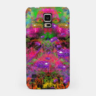 Miniaturka Beetle Entrancement (fluorescent, psychedelic) Samsung Case, Live Heroes