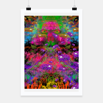 Miniaturka Beetle Entrancement (fluorescent, psychedelic) Poster, Live Heroes