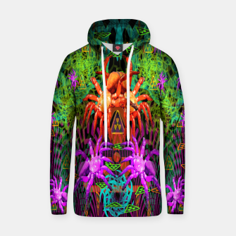 Thumbnail image of Radioactive Creepy Crawlies (spiders, halloween, toxic) Hoodie, Live Heroes