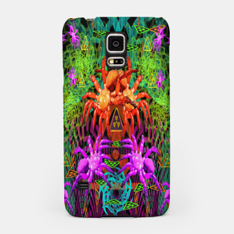 Miniatur Radioactive Creepy Crawlies (spiders, halloween, toxic) Samsung Case, Live Heroes