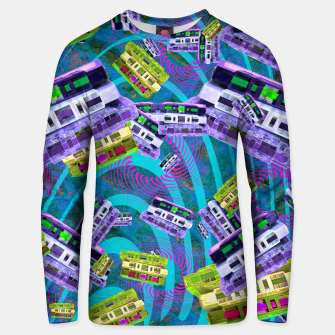 Thumbnail image of 90's Cassettes (music, retro) Unisex sweater, Live Heroes
