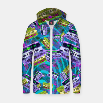 Thumbnail image of 90's Cassettes (music, retro) Zip up hoodie, Live Heroes