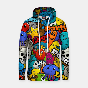 Thumbnail image of Graffiti Characters Hoodie, Live Heroes