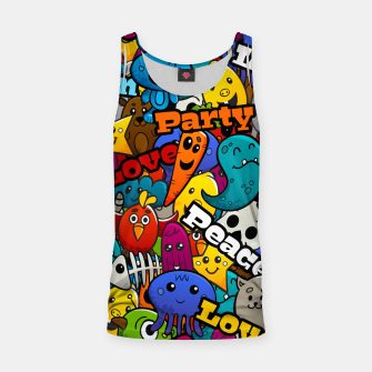 Thumbnail image of Graffiti Characters Tank Top, Live Heroes