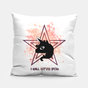 Thumbnail image of Evil Unicorn  Pillow, Live Heroes