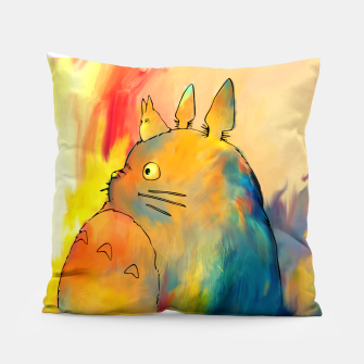 Thumbnail image of totoro Pillow, Live Heroes