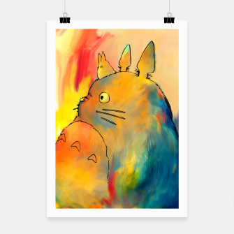 Thumbnail image of totoro Poster, Live Heroes