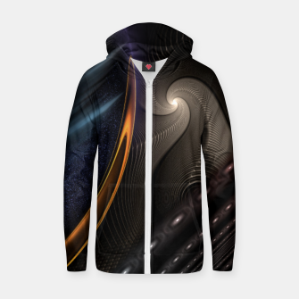 Thumbnail image of Imperial Wrap Zip up hoodie, Live Heroes